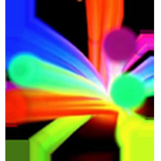 Glow stick go launcher theme (Best Go Launcher Themes)