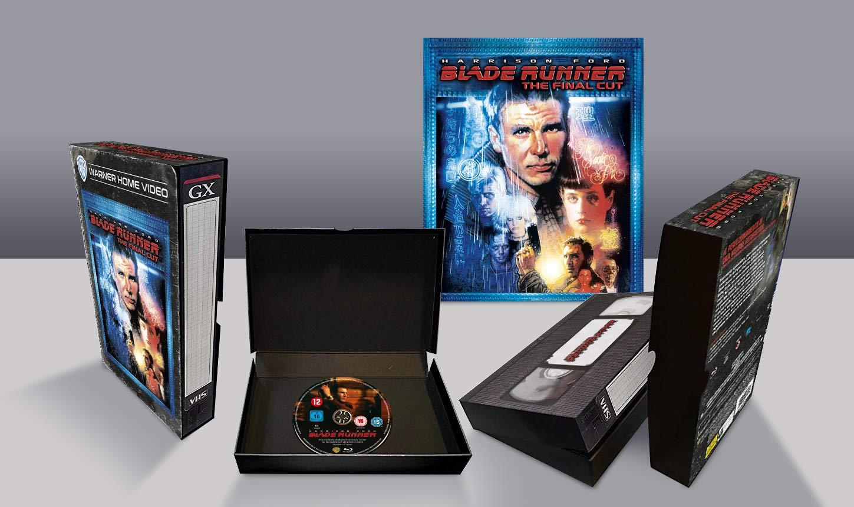 Blade Runner Final Cut Vhs Vintage Pack Edizione Limitata Italia Blu-ray: Amazon.es: Cine y Series TV