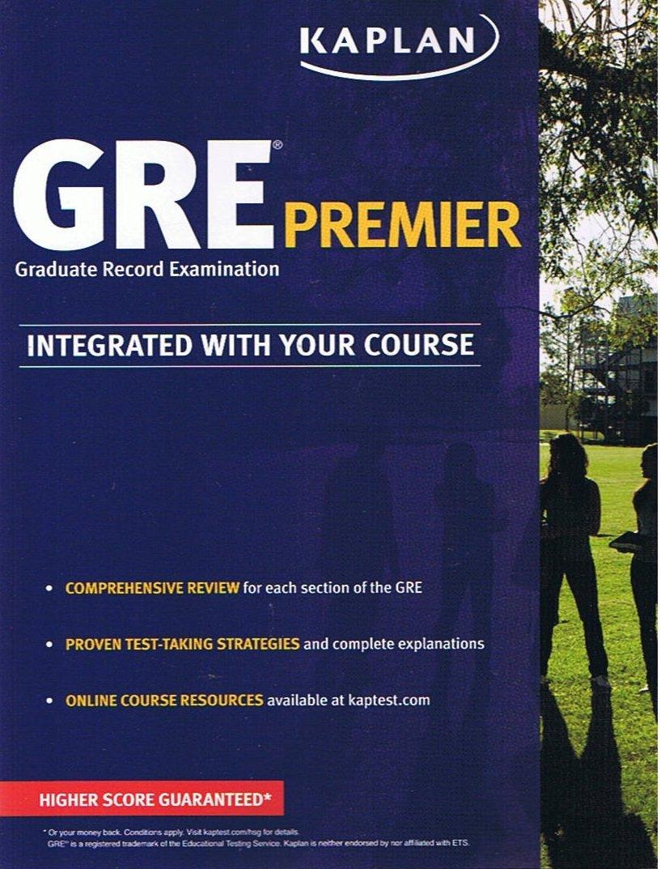 Workbooks kaplan gre verbal workbook : Kaplan GRE Premier [Graduate Record Examination] Integrated With ...