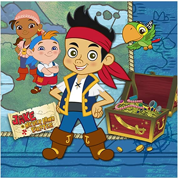 SWIRL DECORATION JAKE AND THE NEVER LAND PIRATES party supplies FREE SHIPPING