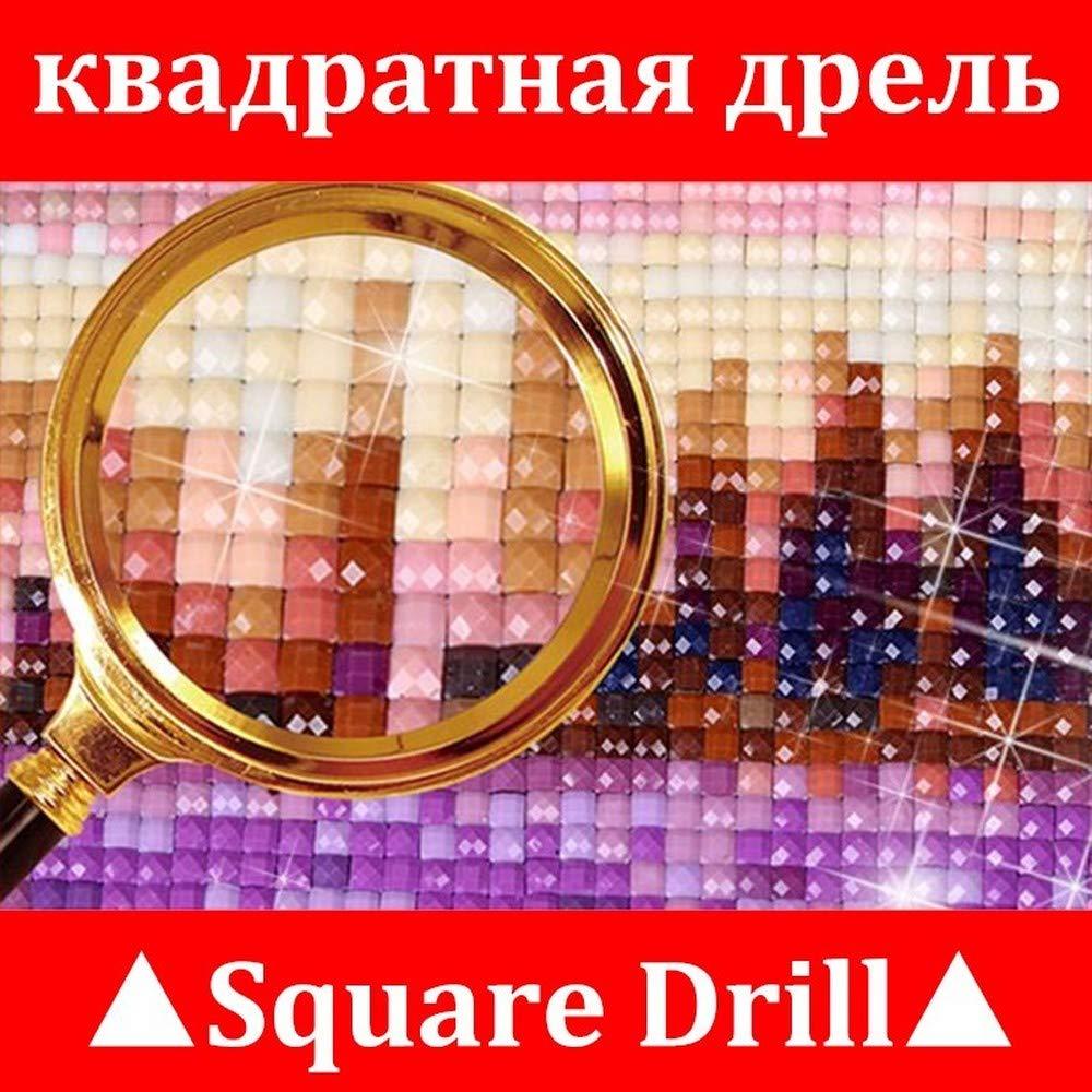24X34cm Animal Diamond Embroidery Mosaic Handmade Gift Full Square Diamond Painting Dachshund Pattern Rhinestone Flower Christmas Decoration