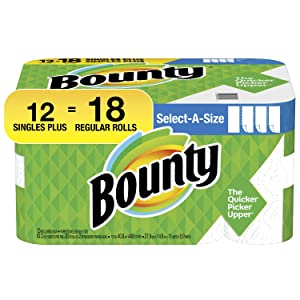 Bounty Bounty 74795 Select-A-Size Paper Towels, 20 Fluid Ounce