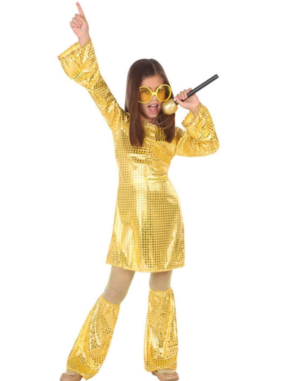 Atosa-56901 Disfraz Disco, Color Dorado, 5 a 6 años (56901: Amazon ...