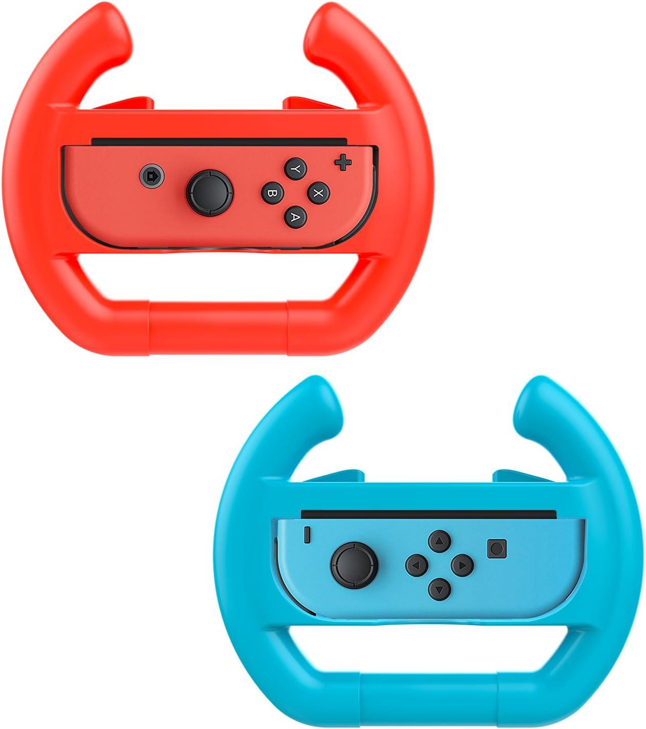 MoKo Nintendo Switch Volante - (2 Paquetes) Juegos de Carreras ...