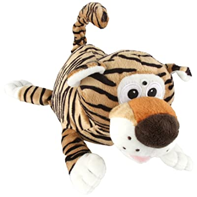 Chuckle Buddies Tiger Electronic Plush: Toys & Games [5Bkhe1003812]