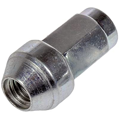 Dorman 611-288 Wheel Lug Nut for Select Ford / Lincoln Models, Chrome, Pack of 10 (OE FIX): Automotive [5Bkhe0816276]