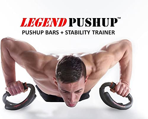 Legend Pushup Push Up Bars Stability Trainer