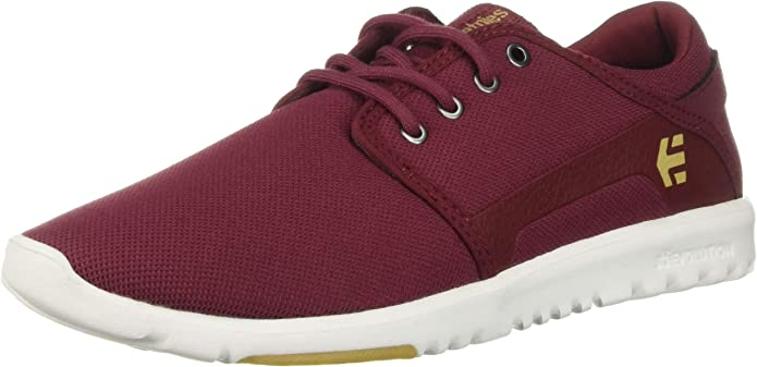 Etnies Scout Sneakers Herren Rot (Aubergine/Eggplant)