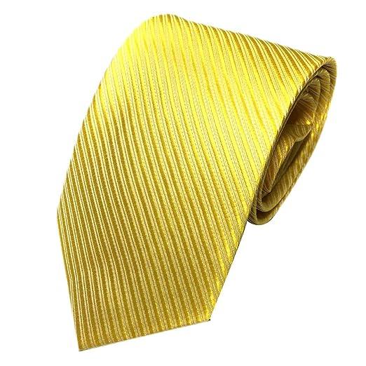 Shmei Colecciones de corbata para hombre, corbata clásica de rayas ...