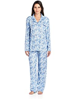 Casual Nights Women s Sleepwear Long Sleeve Floral Pajama Set 0bdec0e0d