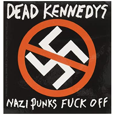 C&D Visionary Dead Kennedys Nazi Punks Fo Sticker: Toys & Games