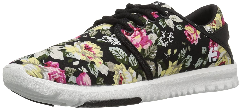 Etnies Womens Scout Sneaker B01IE71Y3C 9 B(M) US|Black/White/Black
