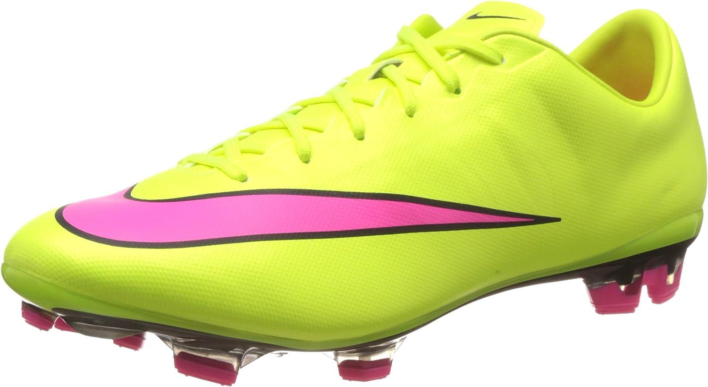 Parásito nariz Explícito  Nike Men's Mercurial Veloce II Fg Volt/Hyper Pink/Black Soccer Cleat 7.5  Men US: Amazon.ca: Shoes & Handbags
