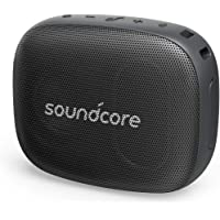 Soundcore Icon Mini Waterproof Bluetooth Speaker with Explosive Sound and Built-in Mic (Black)