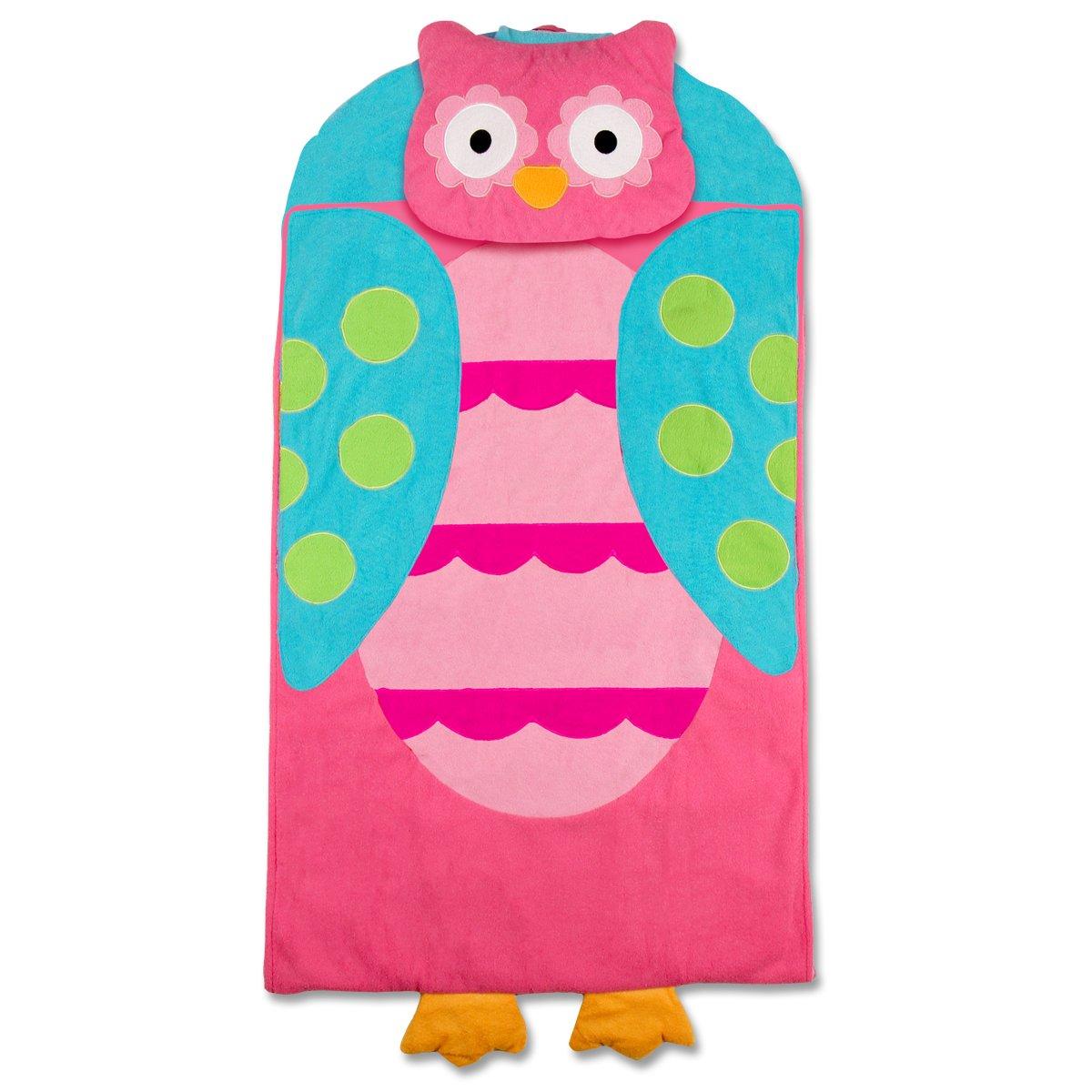Stephen Joseph Owl Nap Mat, Pink/Turquoise SJ770176A