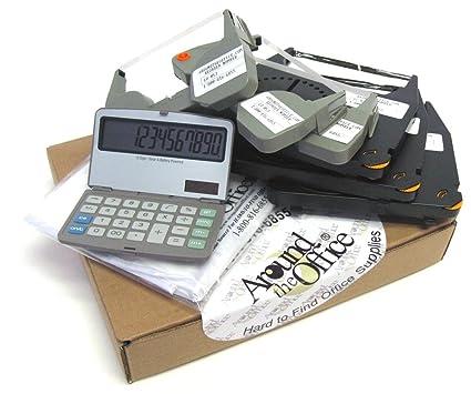 IBM Wheelwriter corrección de cinta corregible y Lift Off cinta con plegable calculadora de sobremesa y