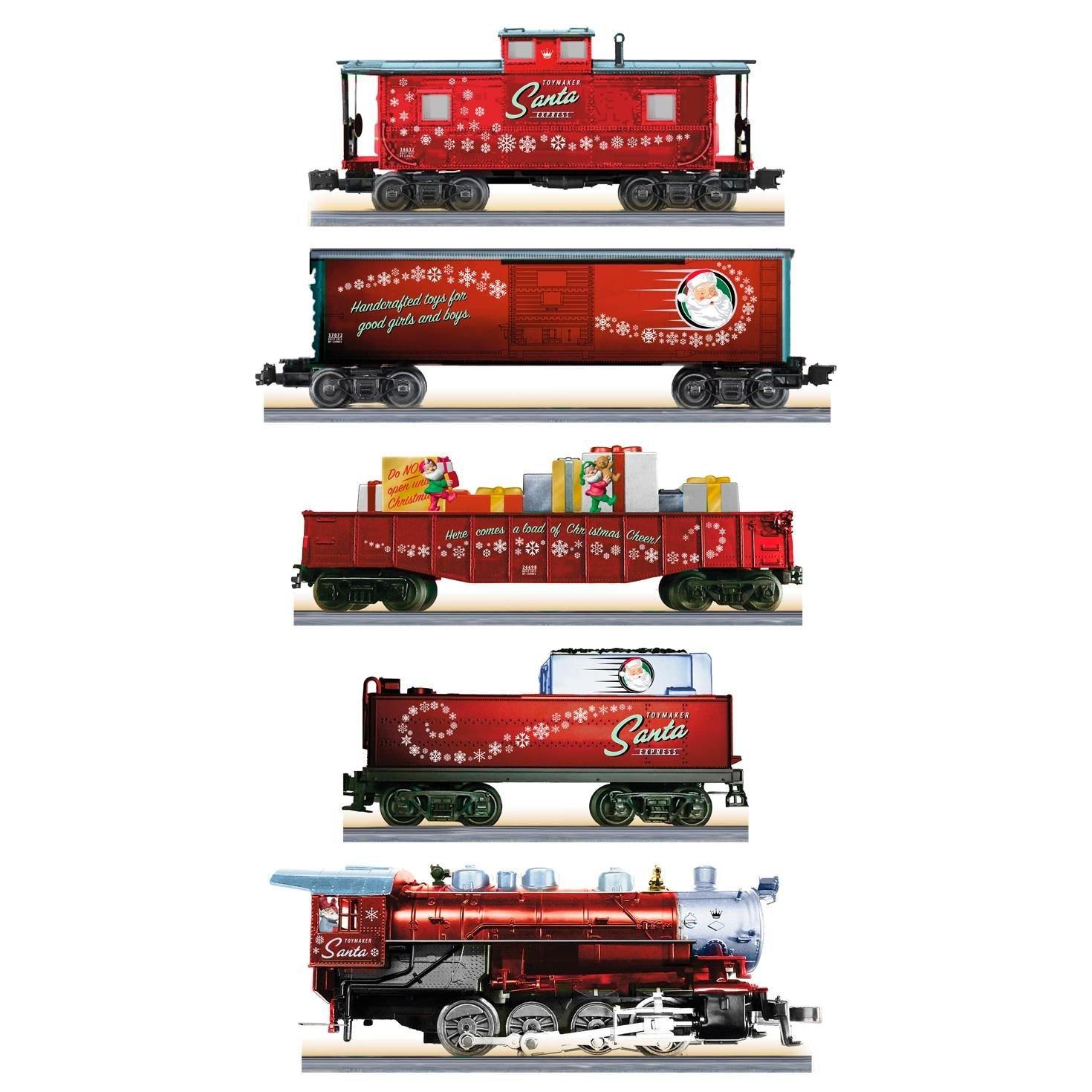 Amazon.com: Hallmark Lionel Toymaker Santa Express Complete Ready-to ...