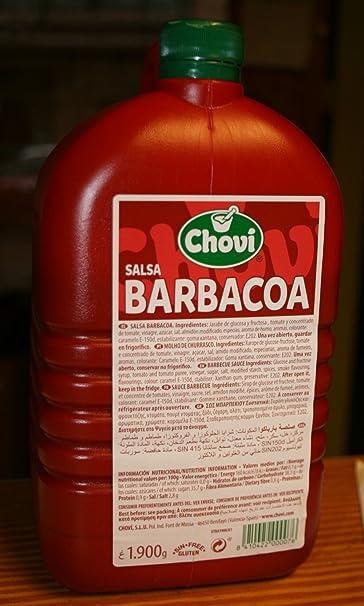 Chovi - Salsa Barbacoa, Botella, 1.9 Kg