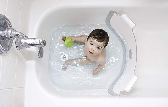 Riempire La Vasca Da Bagno In Inglese : Babydam riduttore di vasca bianco grigio amazon prima infanzia