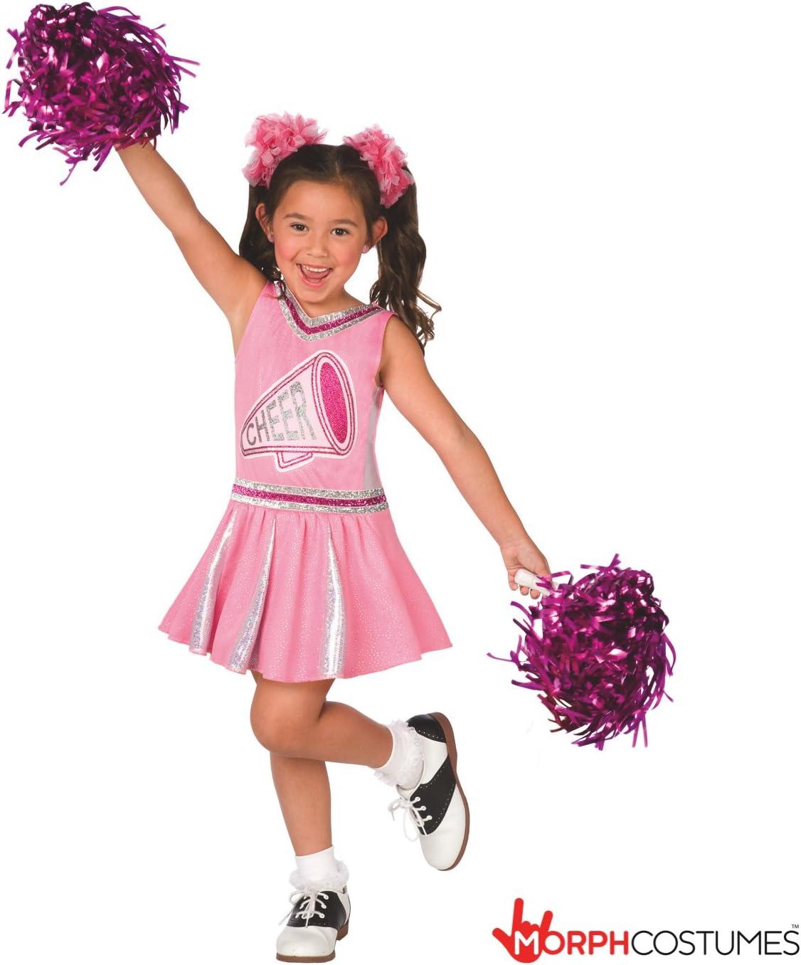 Morph Uniforme de Animadora campeona en Rosa para niñas Disfraz ...