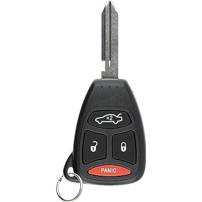 KeylessOption Keyless Entry Remote Control Uncut Ignition Car Key Fob Replacement for KOBDT04A: Automotive