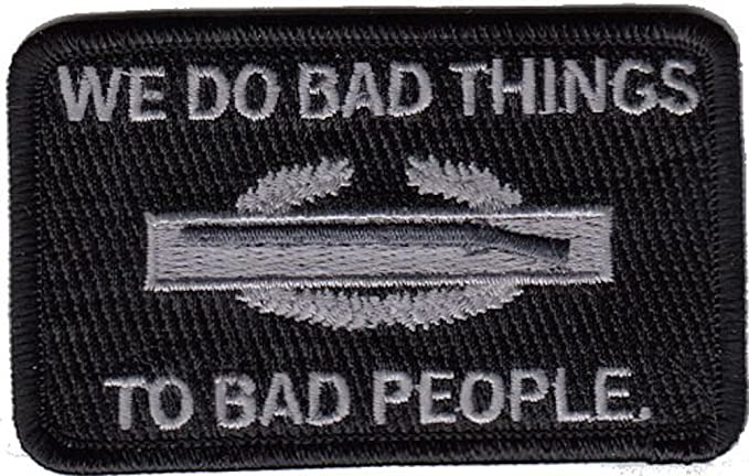 CIB We Do Bad Things to Bad People Morale Patch