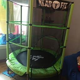 Klarfit Rocketkid - Cama eslástica, Cama elástica Infantil, A ...