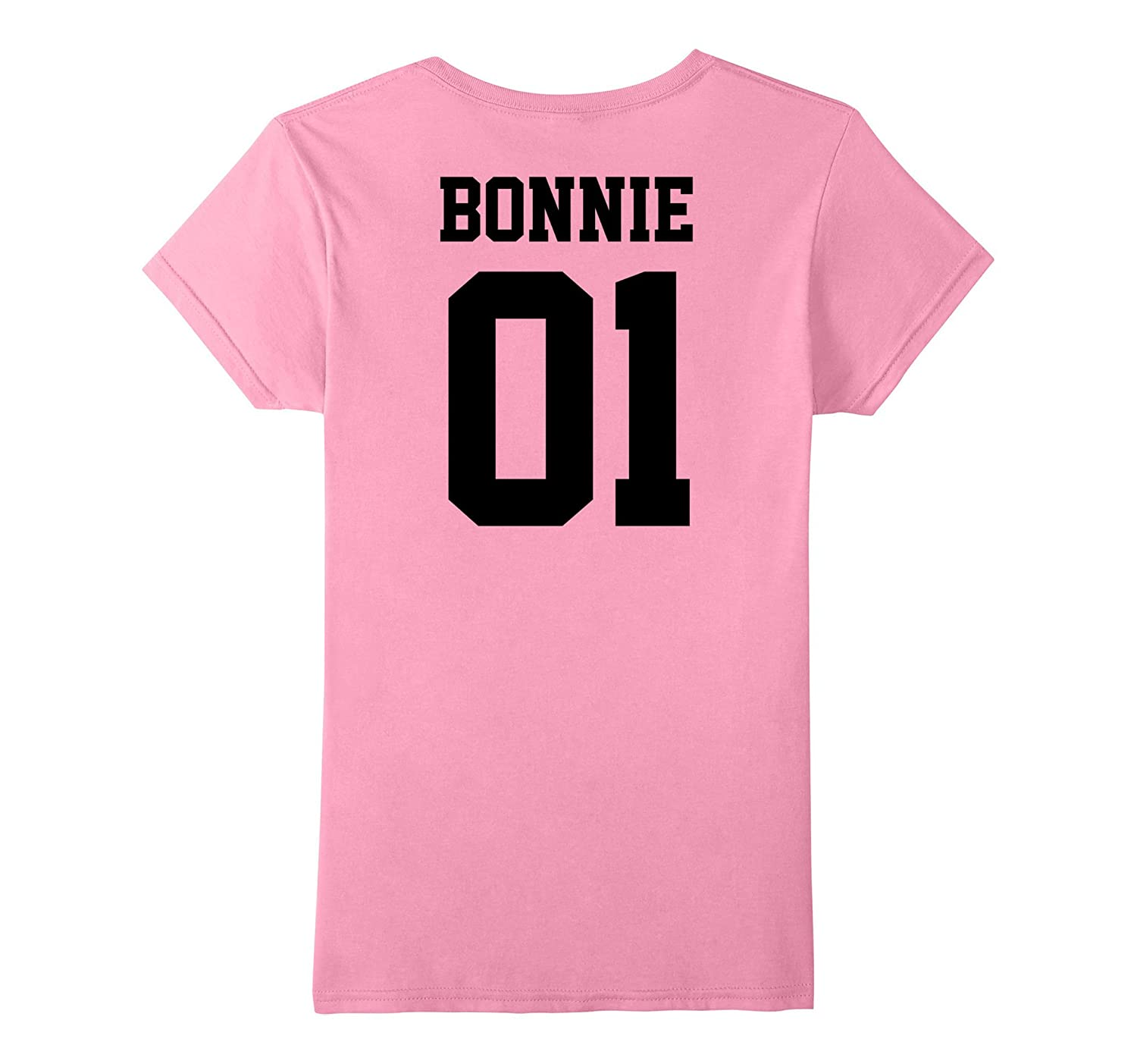 Womens Bonnie and Clyde Matching Couple Shirts Outfits T-shirts Tee-Art