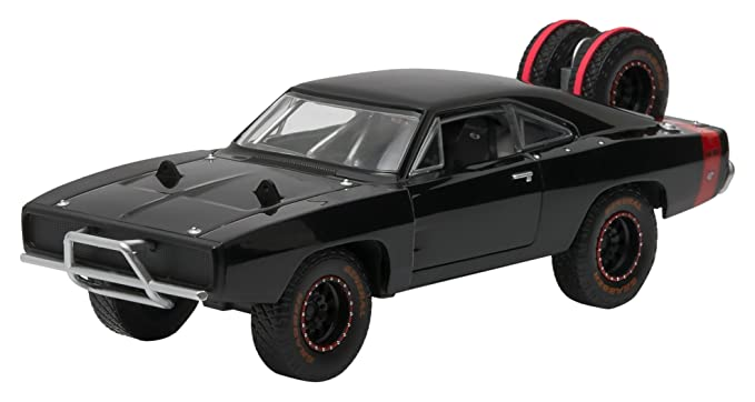 amazon com greenlight 2014 fast 7 1970 dodge charger r t offgreenlight 2014 fast 7 1970 dodge charger r t off road version