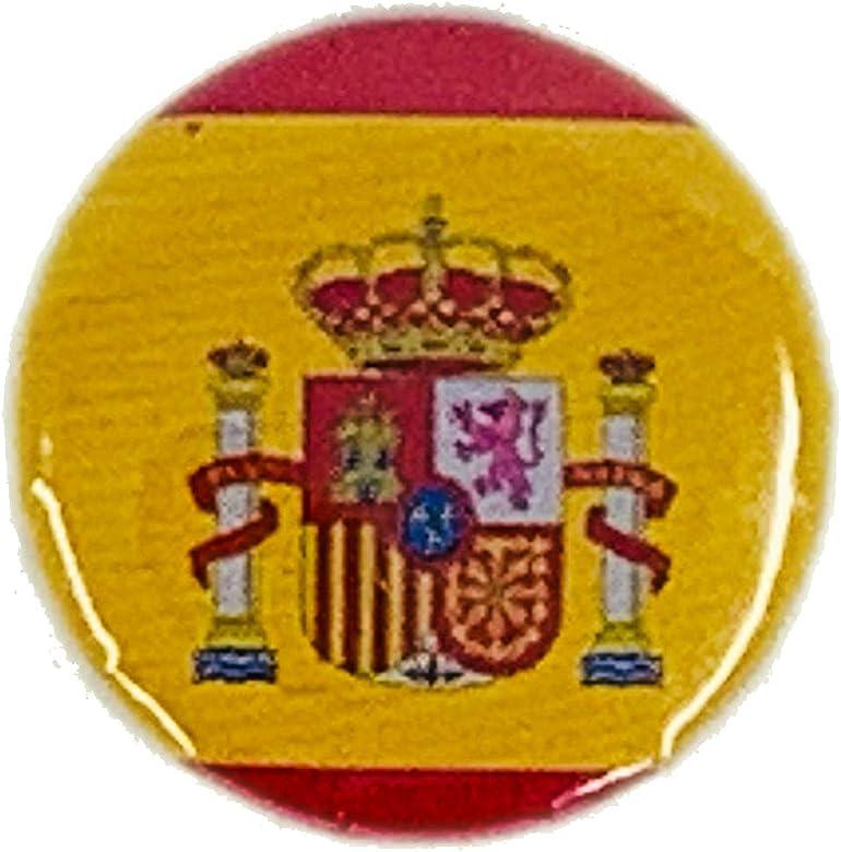 MALALPHA Insignia de los Pernos - Bandera española - España: Amazon.es: Joyería