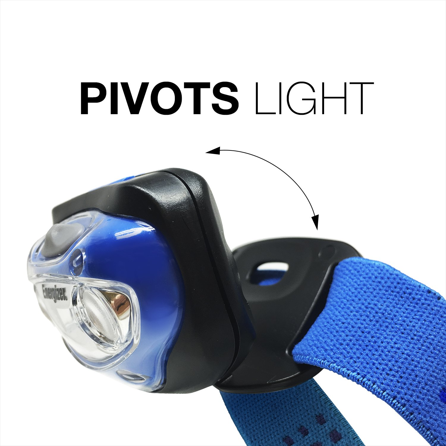 Hiking Ultra Bright High Lumens Running Outdoors Energizer Vision LED Headlamp Flashlight For Camping