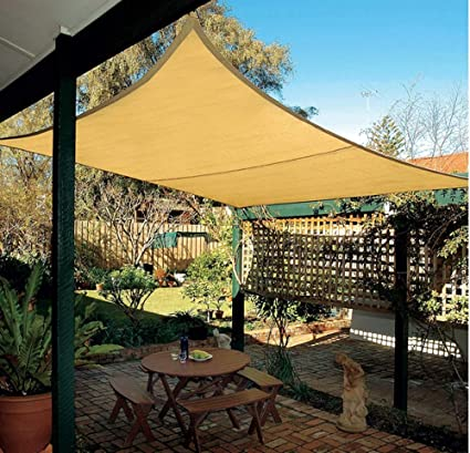 8bf2945197f Image Unavailable. Image not available for. Color  HomeABC Sun Shade Cloth  ...