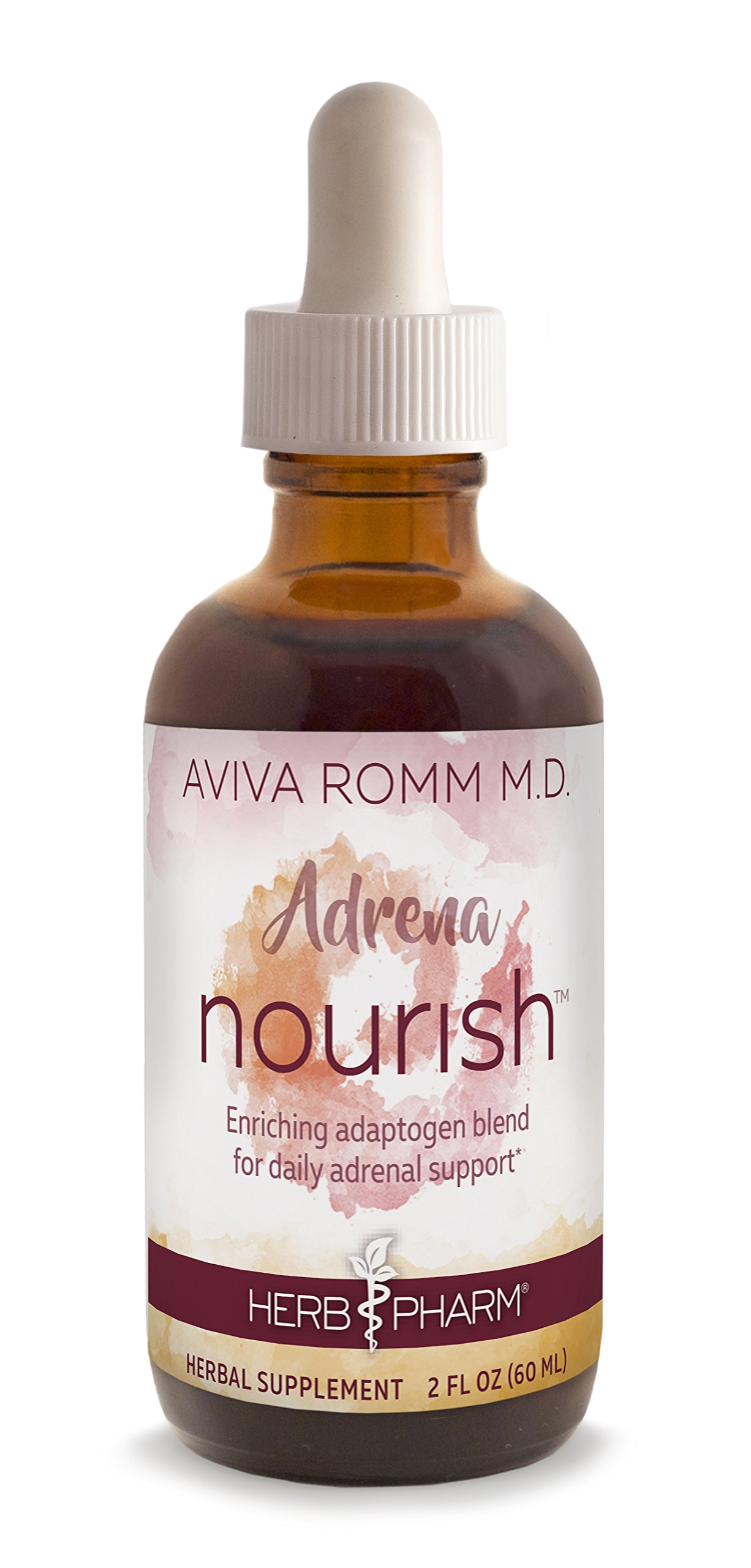 Herb Pharm Adrena Nourish Adaptogen Blend for Daily Adrenal Support Created in Collaboration with Dr. Aviva Romm, M.D.