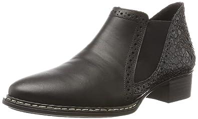 Rieker 53652, Botas Chelsea para Mujer: Amazon.es: Zapatos y complementos