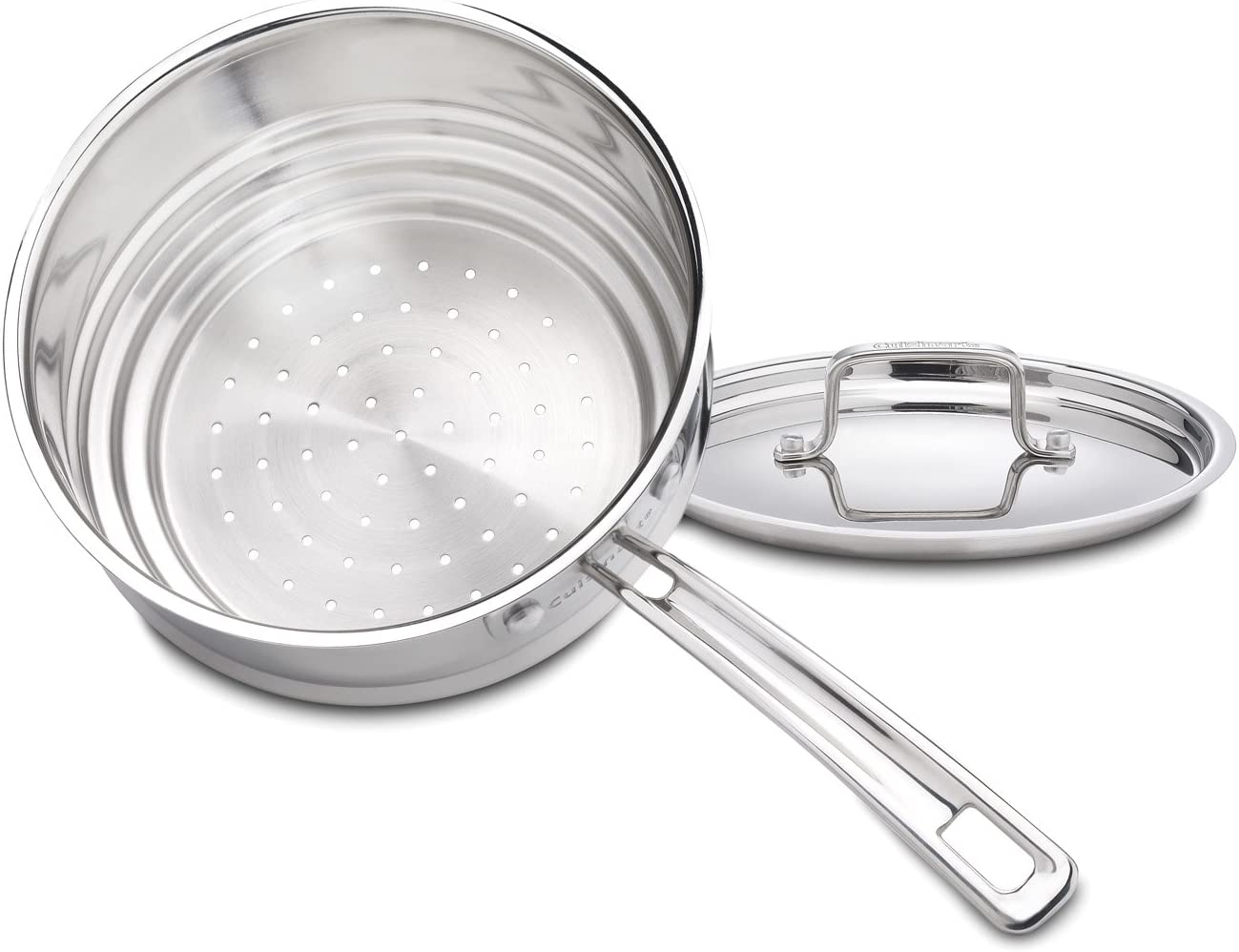 Cuisinart MultiClad Pro Stainless Universal Steamer with Cover