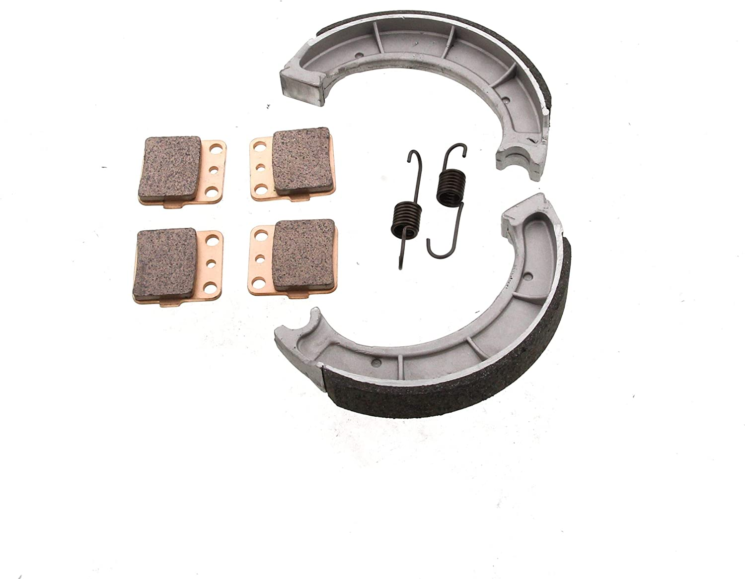Brake Pads and Brake Shoes fits Yamaha Grizzly 600 YFM600 1998-2001 Front and Rear