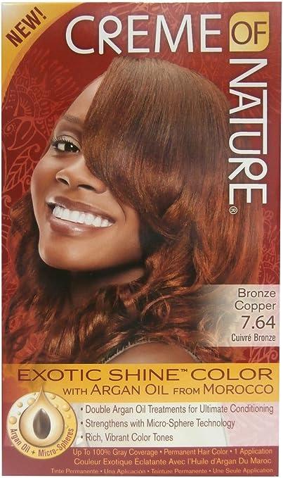 Crema of Nature Hair Color – Color del pelo Exotic Shine ...