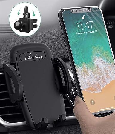 LG Huawei und andere Smartphone oder GPS-Ger/äte Handyhalterung Auto Kratzschutz KFZ Handy Halterung Auto L/üftung f/ür iPhone Samsung HTC Avolare Handyhalter f/ürs Auto
