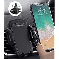 Avolare Handyhalter fürs Auto - Handyhalterung Auto Kratzschutz KFZ Handy Halterung Auto Lüftung für iPhone, Samsung, HTC, LG, Huawei und andere Smartphone oder GPS-Geräte(Schwarz)
