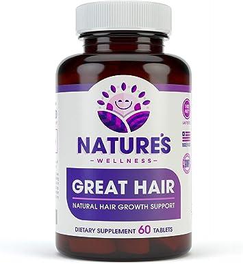 Amazon.com: Gran suplemento para el cabello, vitaminas ...