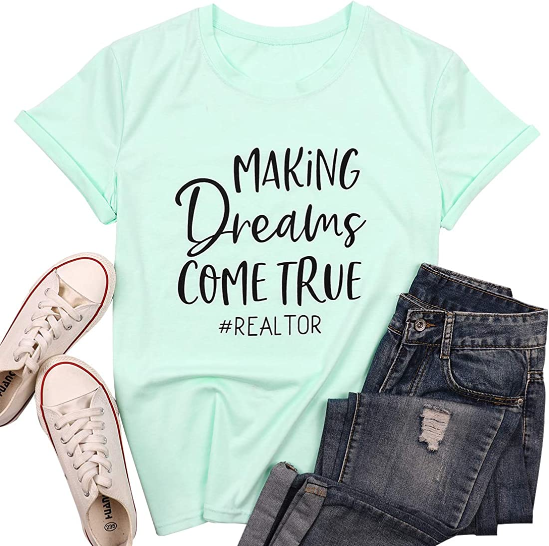 Coffee Mascara and Real Estate T-Shirt