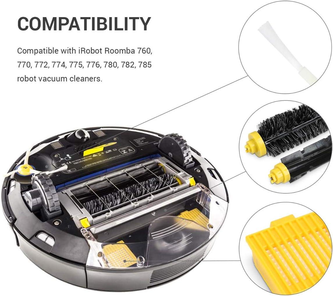 kwmobile Set de repuestos para Roomba - Series 700-3X cepillos ...