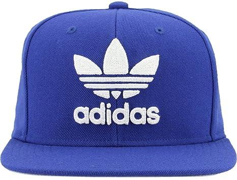 3e0b63eeeac adidas Men s Originals Trefoil Chain Snapback Baseball Cap ...