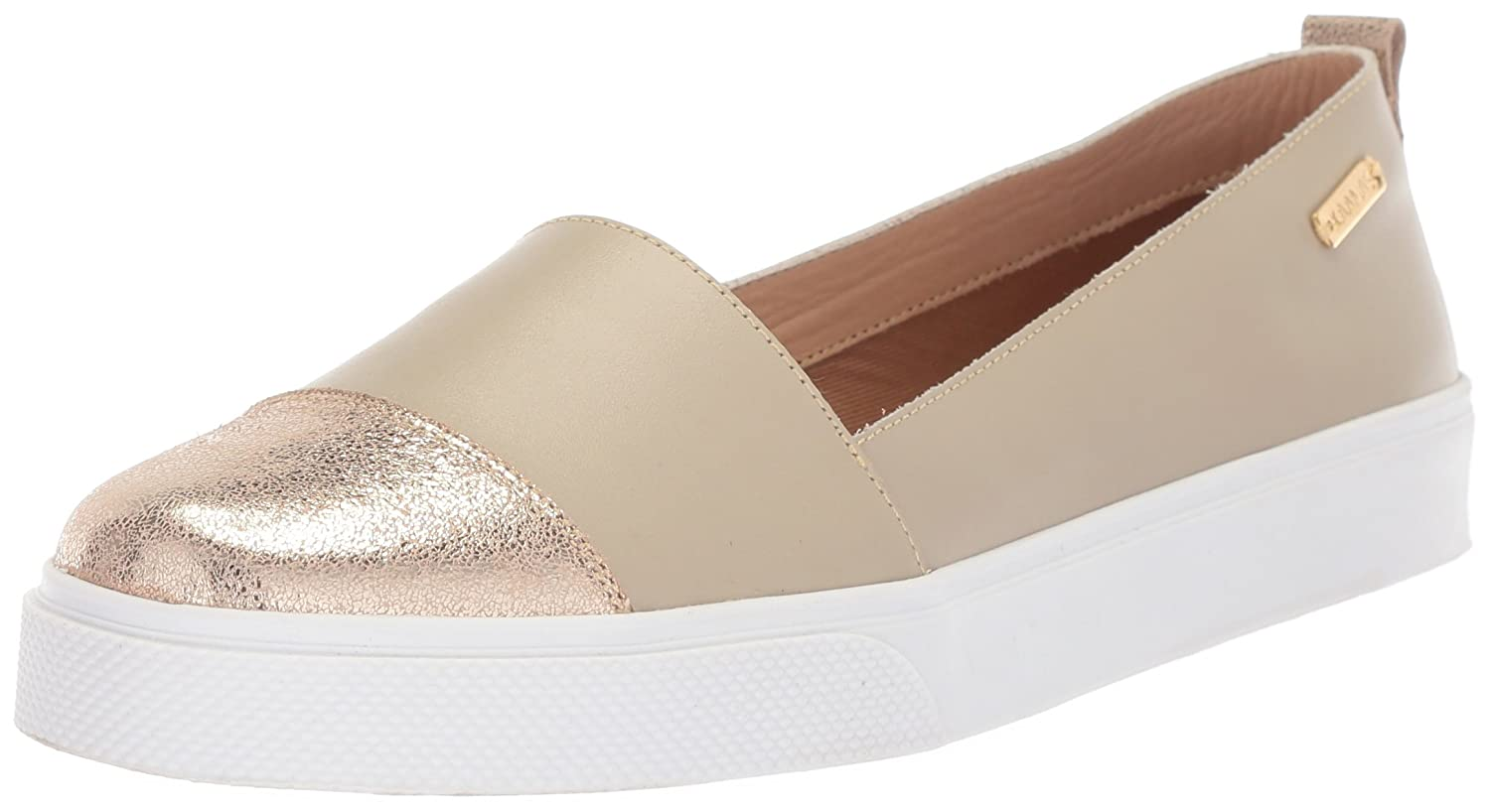 KAANAS Women's Serengeti Fashion Shoe B076FKNWM8 Slip On Casual Sneaker B076FKNWM8 Shoe 9 B(M) US|Cream Metallic 0aac52