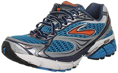 15e5efaebe2 Brooks Women s Ghost 4 W Blue Orange White Silver Trainer 1200921B498 3 UK