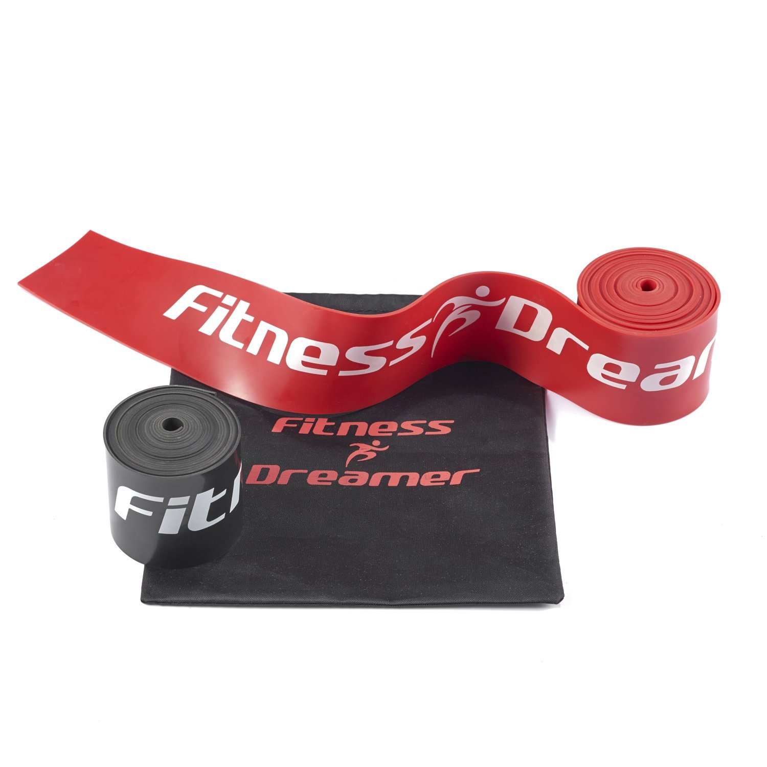 Exercise & Fitness Stretch Band Includes Carrying Case WOD Nation