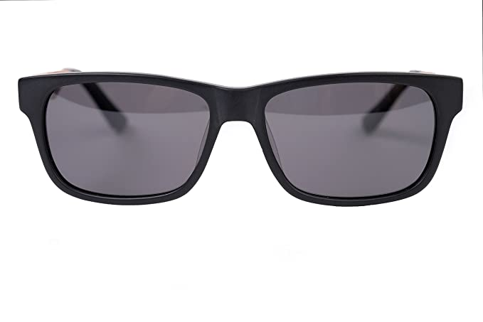 amoloma Acetat - Holz - Hybrid Sonnenbrille Karée stil Grau FPl9MS0r