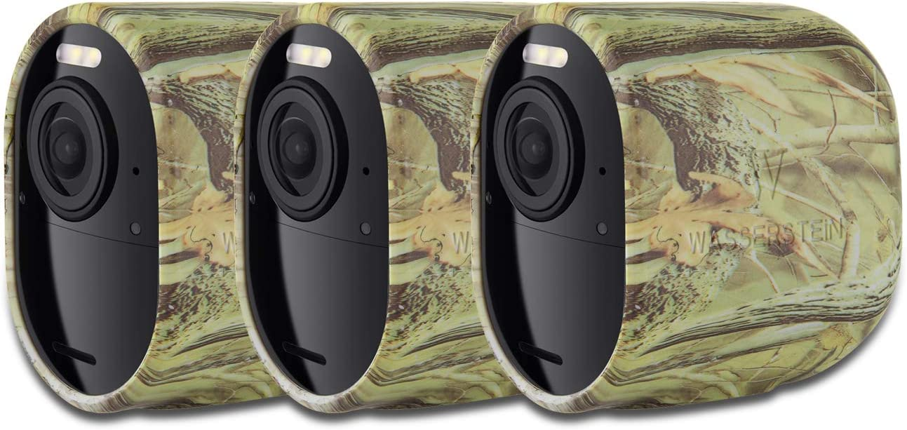 Taken Protective Case Cover for Arlo Pro 2 and Pro Security Camera Silicone Skins Compatible for Arlo Pro and Arlo Pro 2 Cameras for Arlo Accessories 3 Pack, Camouflage