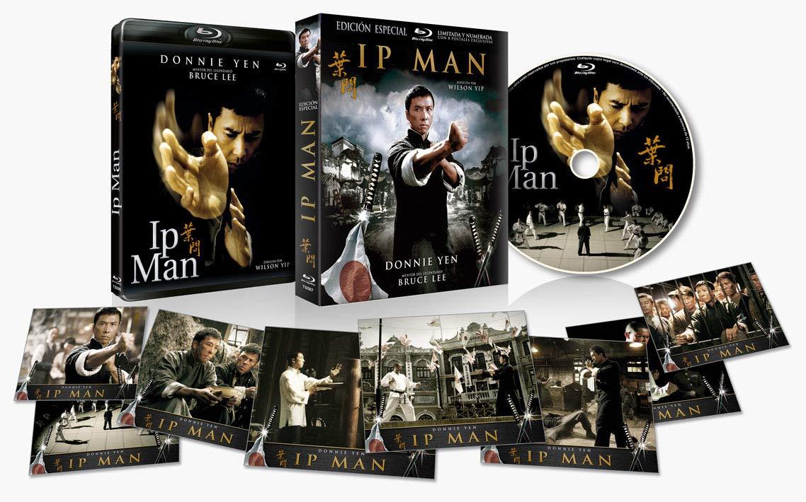 Ip Man BLU RAY Edición Especial Numeraday Limitada con Funda y 8 Postales 2008 (Yi dai zong shi Ye Wen) (The Legend of Yip Man) [Blu-ray]
