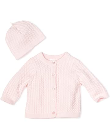 20fbbef4 Little Me Baby Girls' Light Pink Cable Sweater
